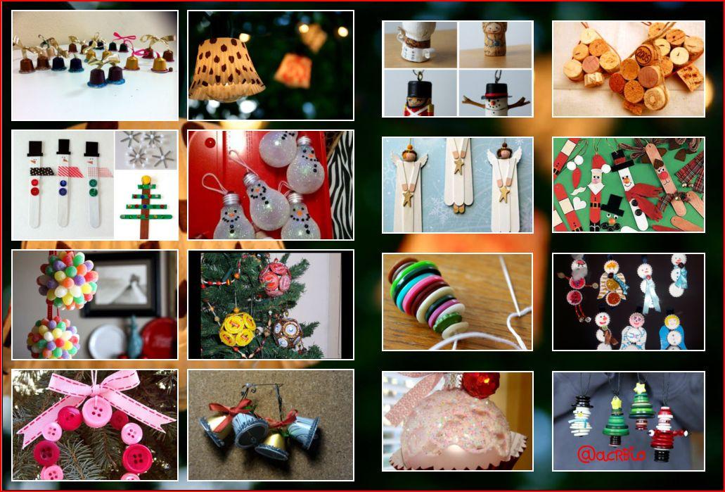 Dise a tus propios adornos navide os for Articulos decoracion salon