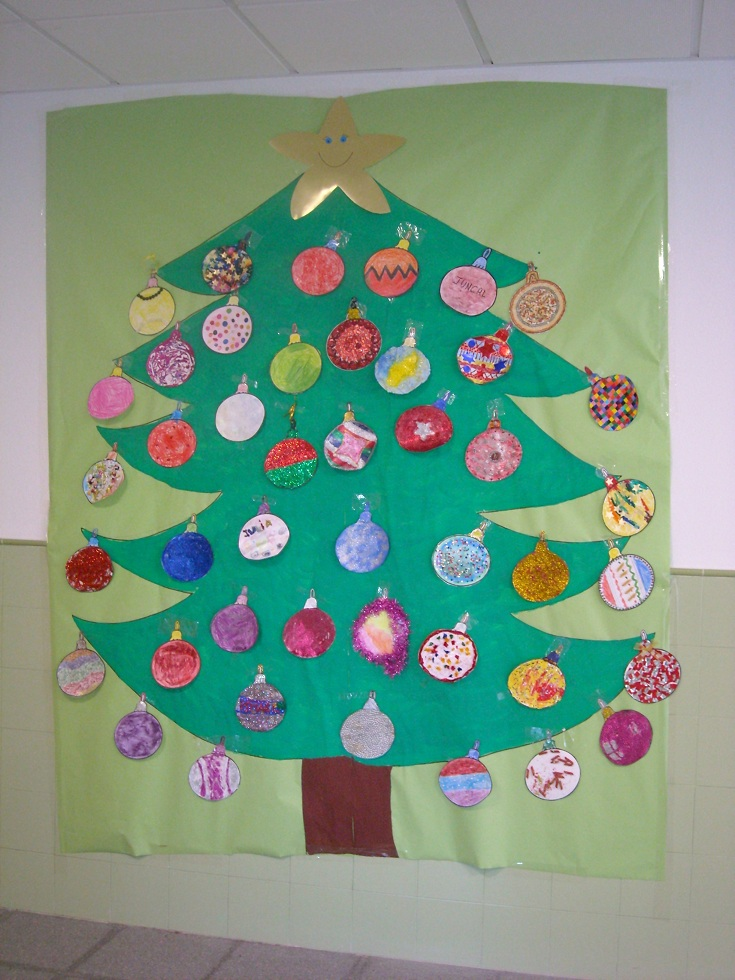 Arboles navidad 4 imagenes educativas - Manualidades de arboles de navidad ...