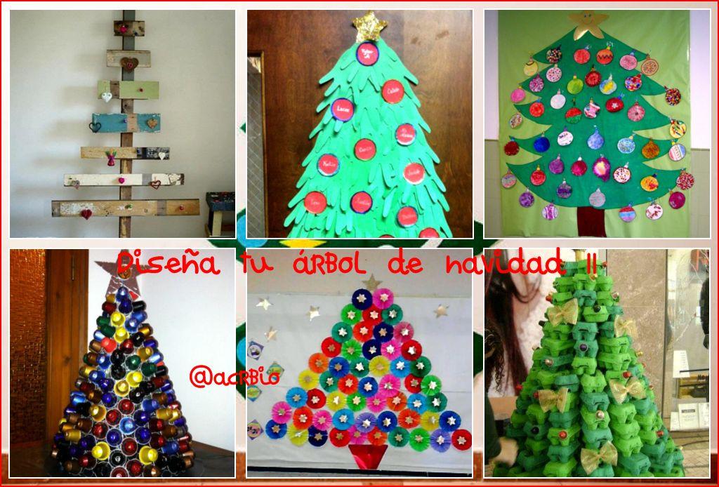 Dise a tu rbol de navidad ii for Decoracion de aula para navidad