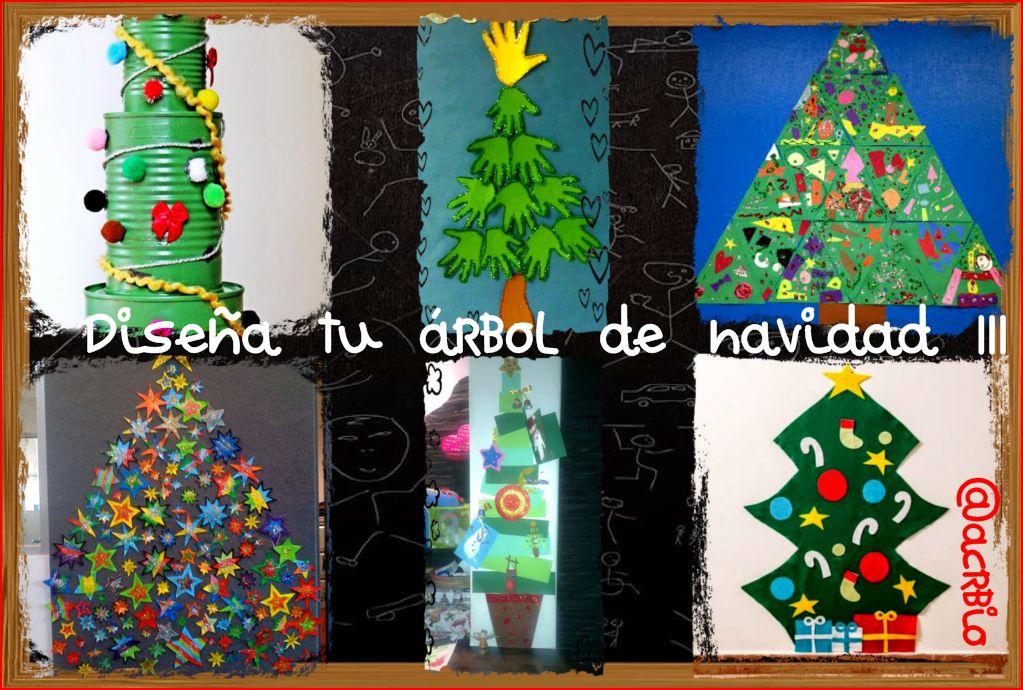 Dise a tu rbol de navidad iii - Arboles de navidad artesanales ...