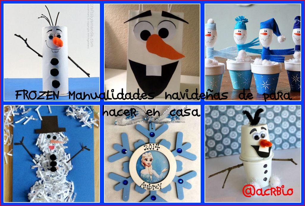 Frozen manualidades navide as de para hacer en casa - Trabajo de manualidades para hacer en casa ...