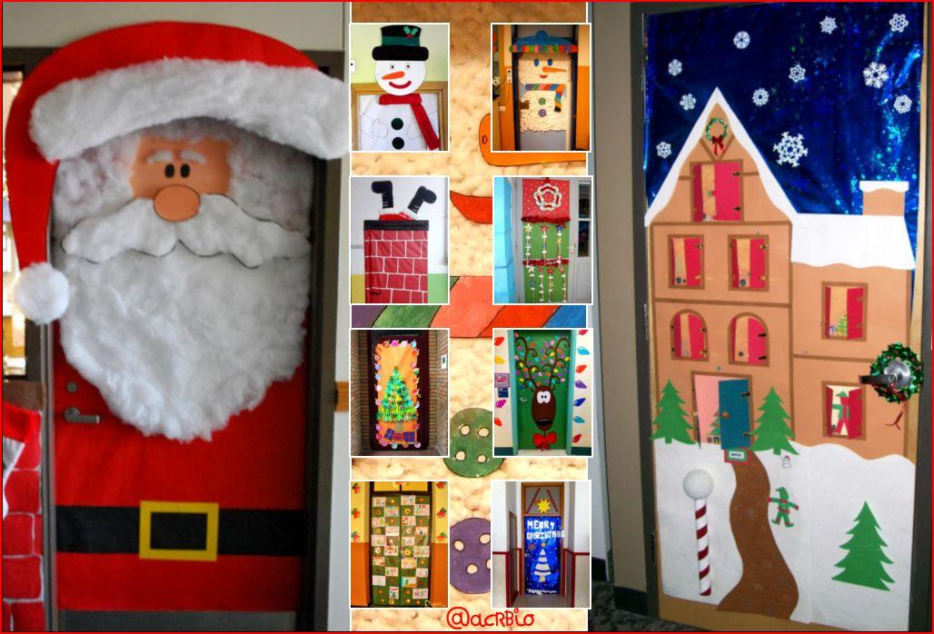 puertas navide as para nuestras clases On puertas navidenas