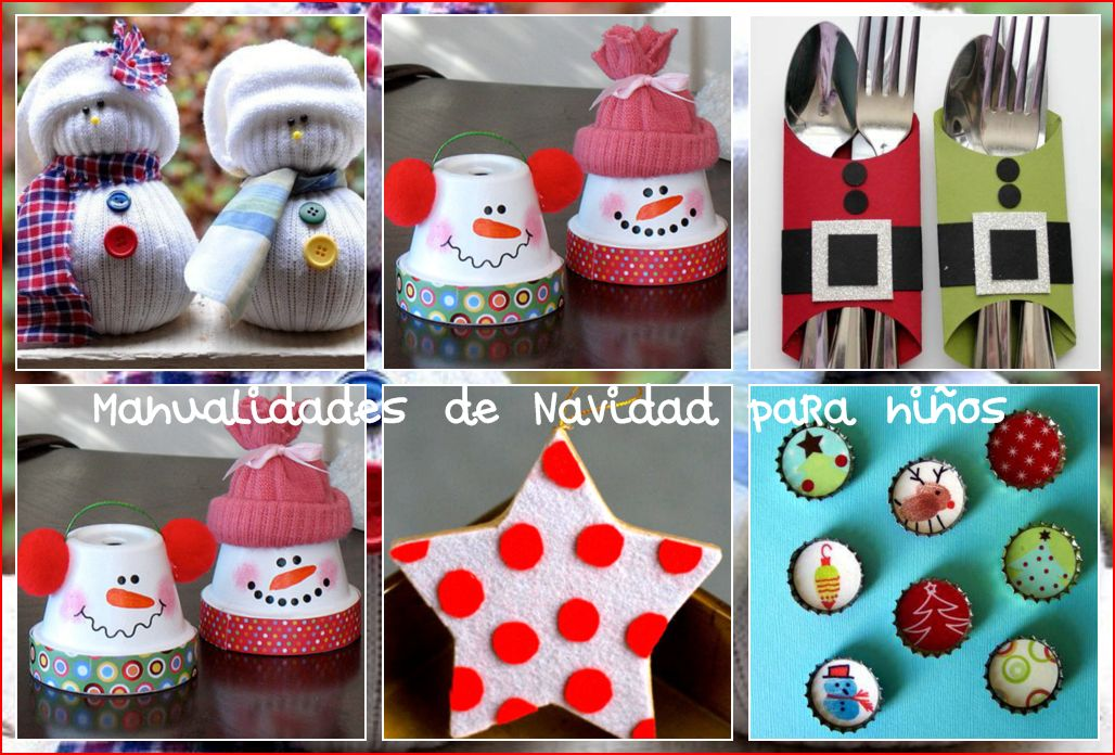 Manualidades de navidad para ni os imagenes educativas - Manualidades faciles de navidad para ninos ...