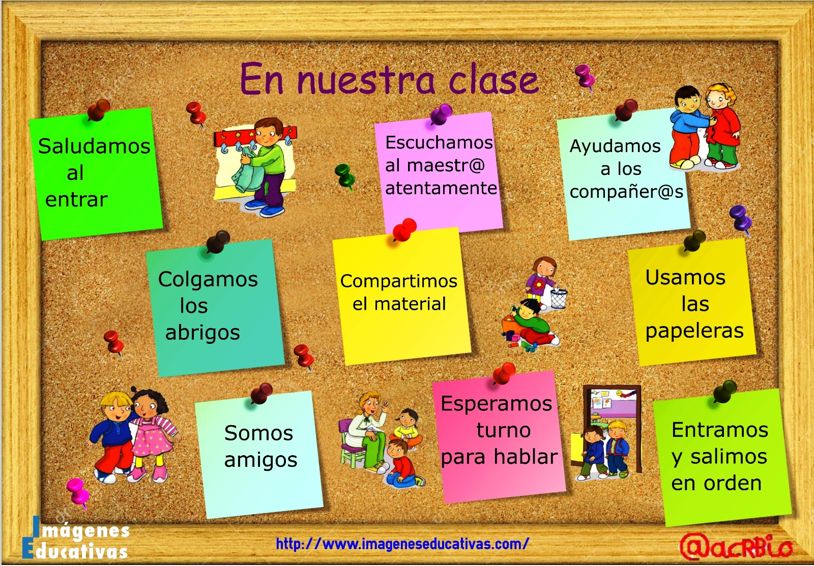 Las normas en educaci n infantil for Decoracion aula primaria