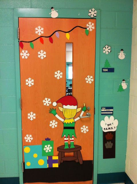 PuertasIII (3)  Imagenes Educativas ~ 163338_Christmas Door Decorating Ideas Middle School