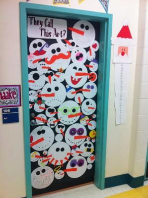 Puertas navide as para nuestras clases iii for Decoration porte classe noel