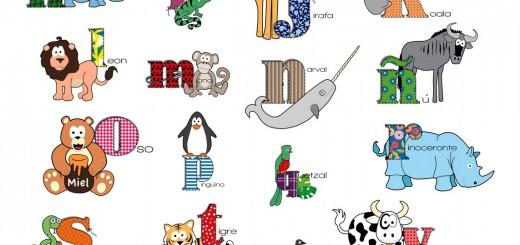 EL abecedario de los animales -Orientacion Andujar