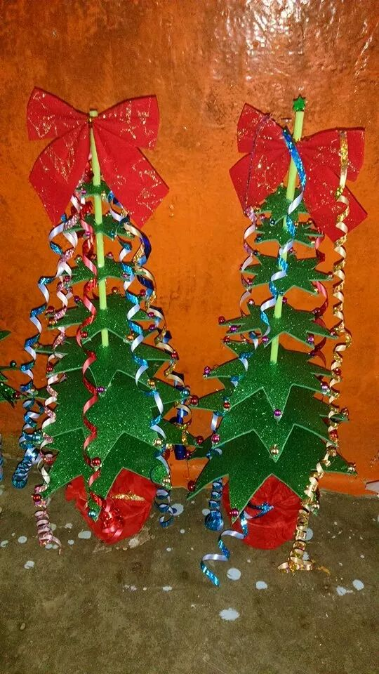 Arboles de navidad manualidades iv 5 imagenes educativas - Manualidades de arboles de navidad ...