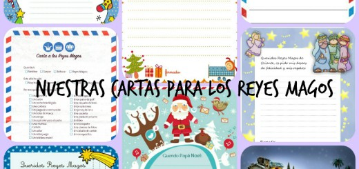 Cartas Reyes Magos Collage