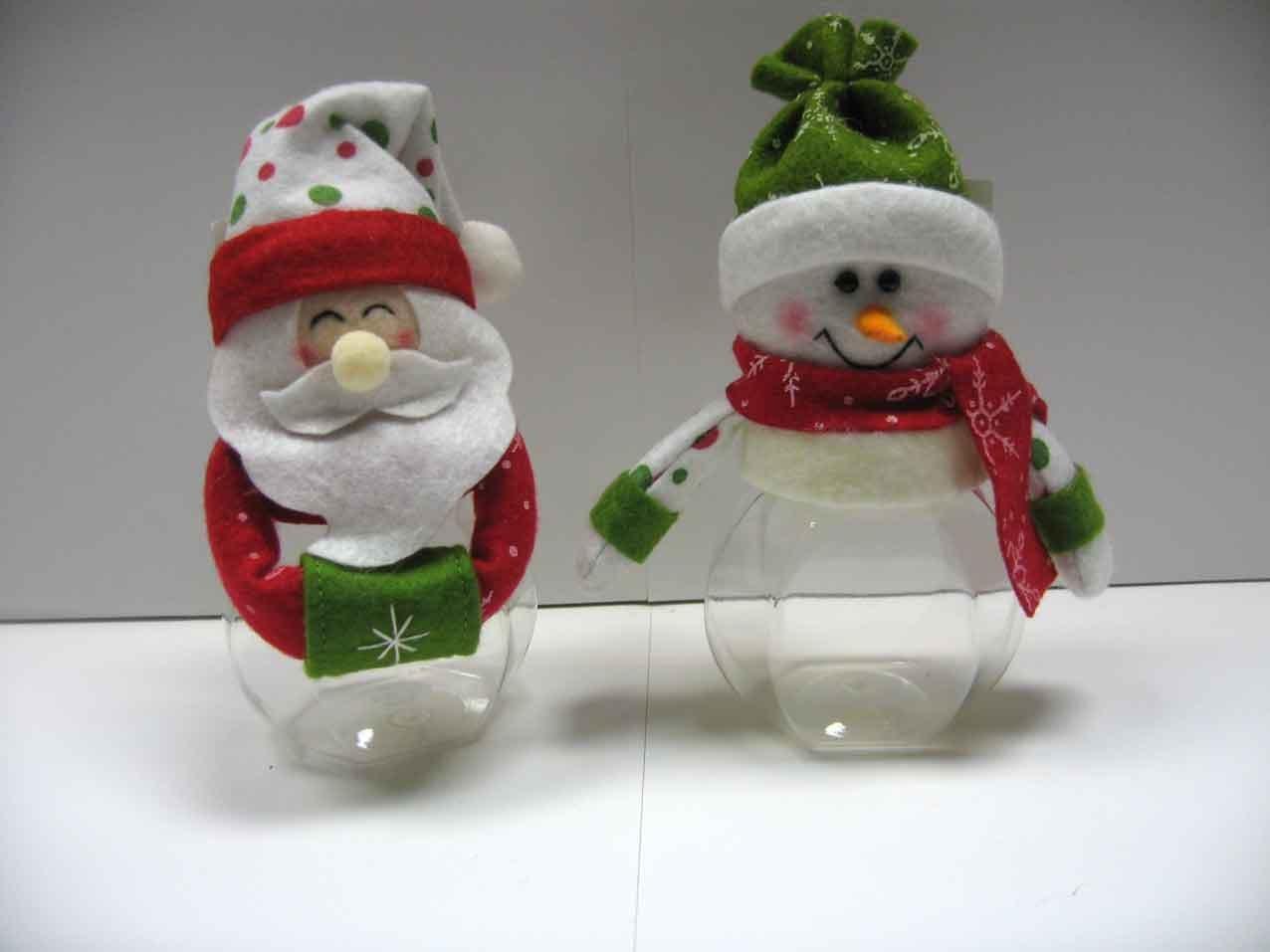 Baños Decorados Navidenos:Adornos De Navidad Con Botellas Plasticas