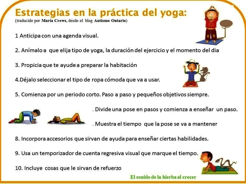 Estrategias para la práctica del yoga para niños 231d2b08355f