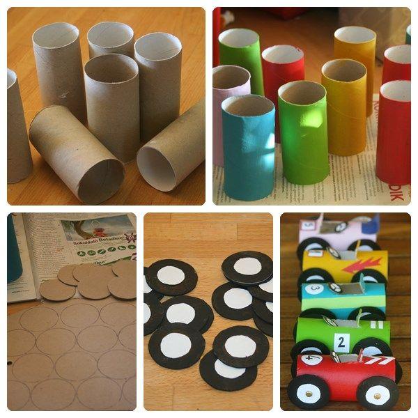 Jugetes material reciclado imagenes educativas for Materiales reciclados para decoracion