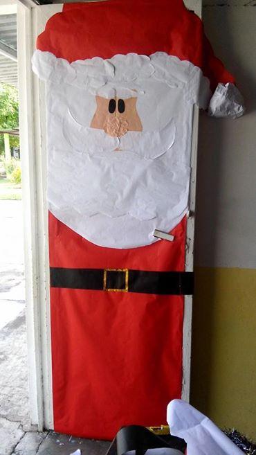 Manualidades navide as puertas 12 imagenes educativas for Puertas decoradas navidad colegio