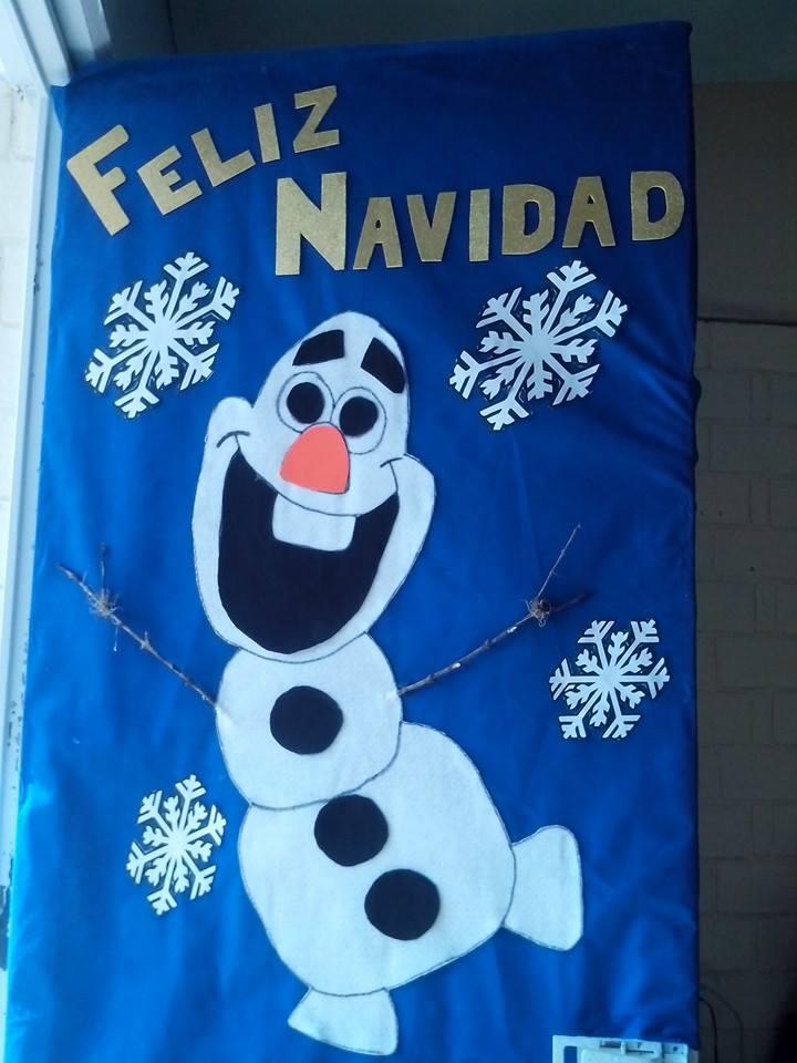 Manualidades navide as puertas 15 imagenes educativas for Puertas decoradas de navidad para preescolar
