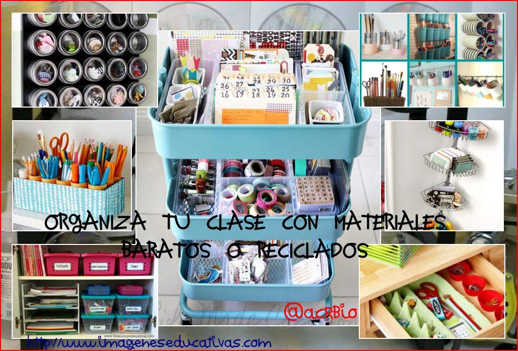 Soluciones para organizar tu clase con materiales for Organizar salon