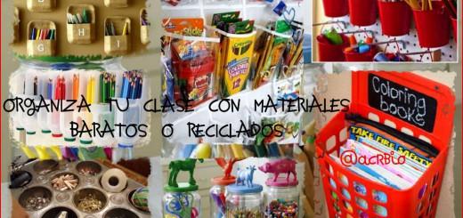 Soluciones para Organizar tu clase con materiales ...