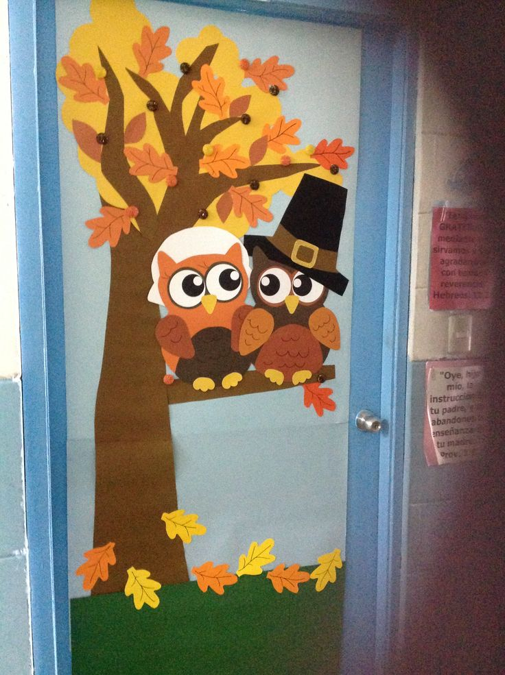 Decoracion De Puertas Para Thanksgiving