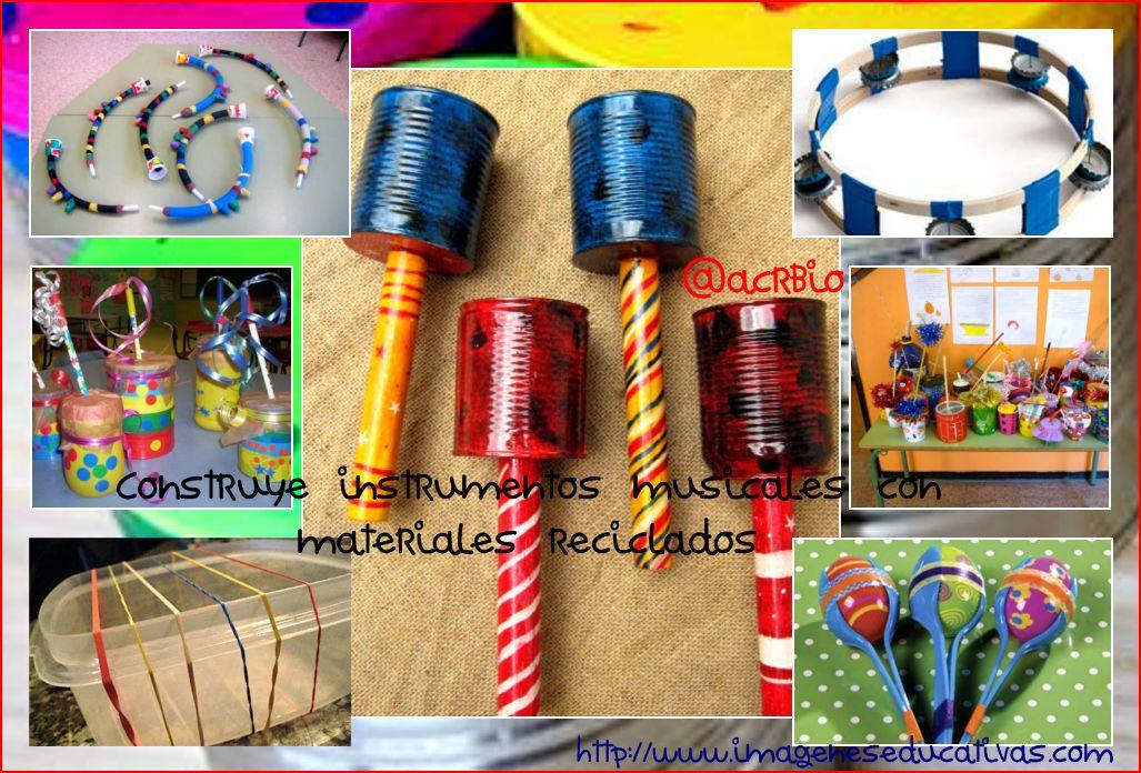 instrumentos musicales collage I - Imagenes Educativas