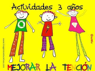 Actividades para Mejorar la Atención 3 Años_Página_01