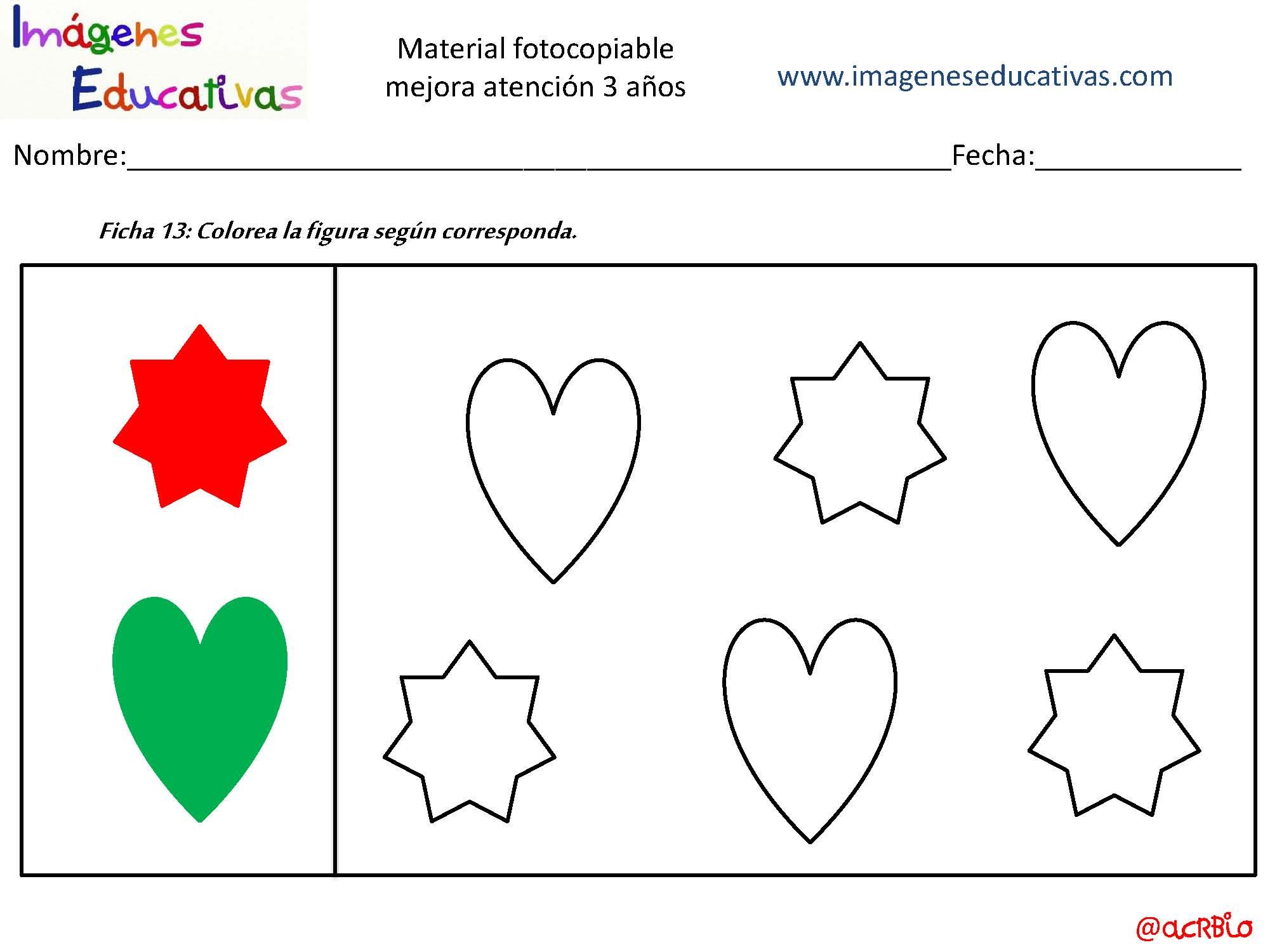 Colorear Dibujos Ninos 3 Anos: Actividades Para Mejorar La Atención 3 Años_Página_14