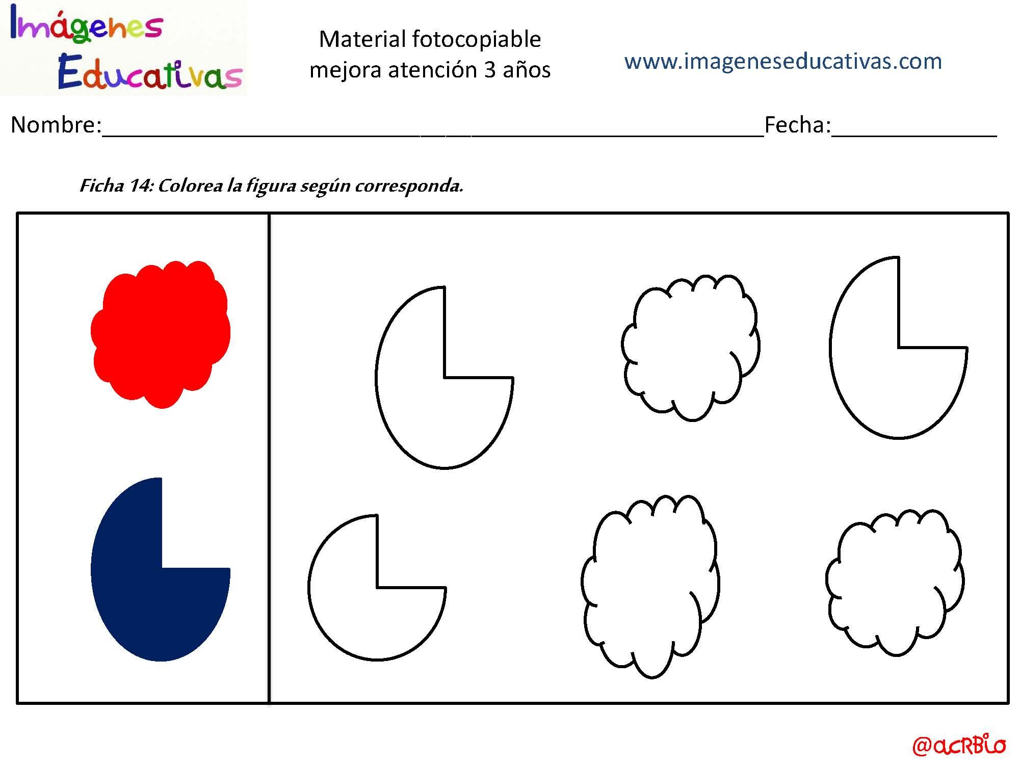 Actividades para mejorar la atenci n 3 a os p gina 15 for Actividades pedagogicas para ninos de 2 a 3 anos