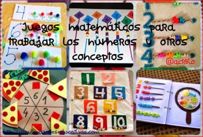 Juegos matematicos Collage