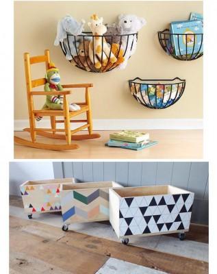 Bonitos y divertidos muebles infantiles con materiales reciclados - Muebles habitacion ninos ...