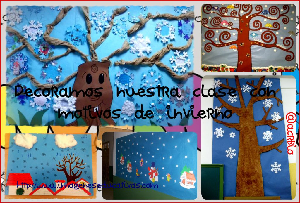 Decoracion Invierno Para Jardin Infantil ~ invierno Collage I  Imagenes Educativas