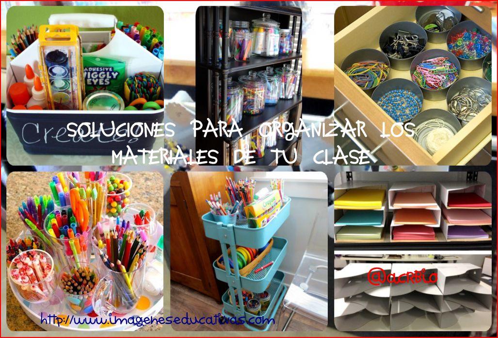 Soluciones para organizar los materiales de tu clase for Ideas para organizar la sala