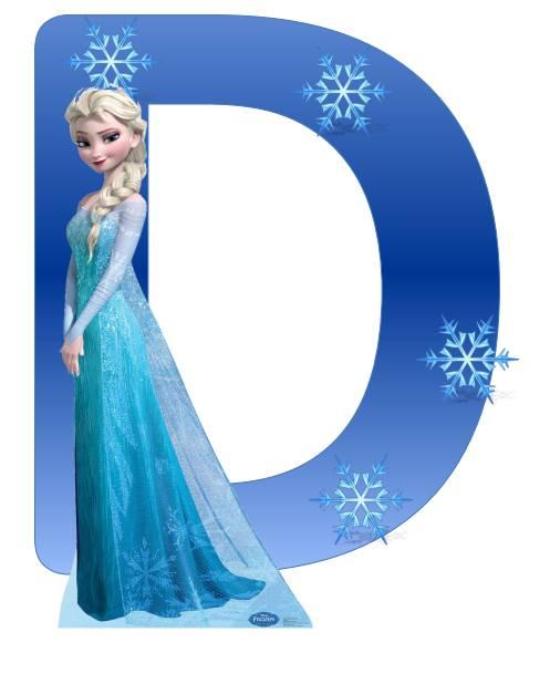 Abecedario Frozen (5) - Imagenes Educativas