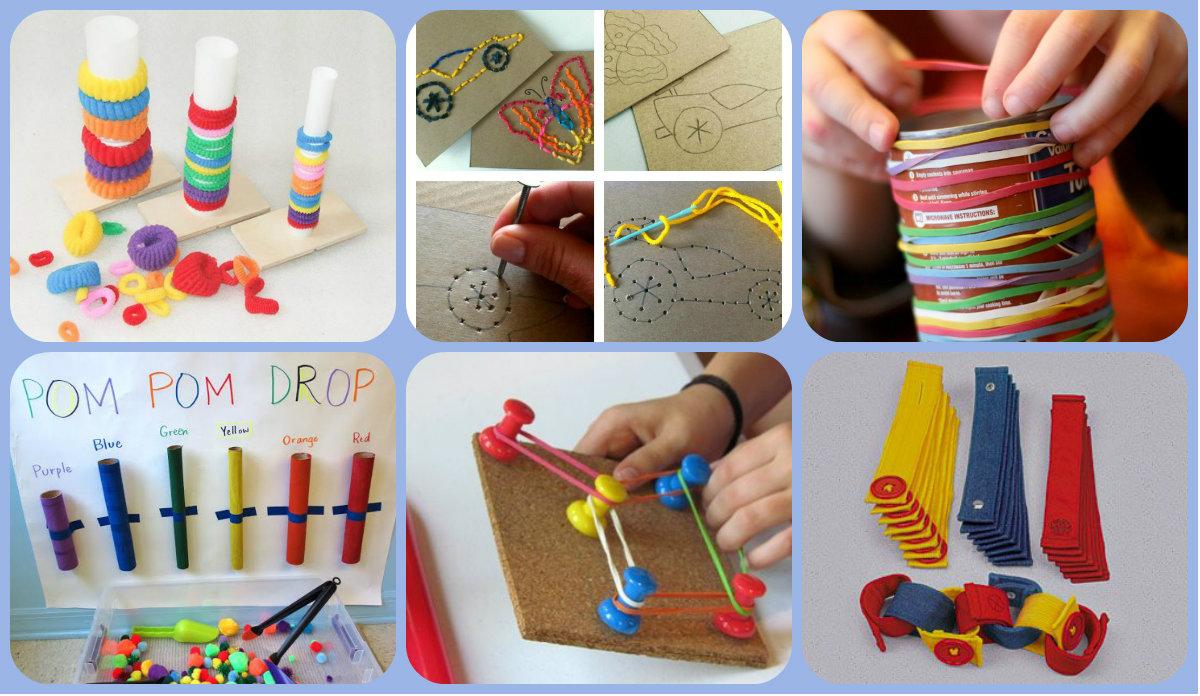 Actividades Motricidad Fina Collage - Imagenes Educativas