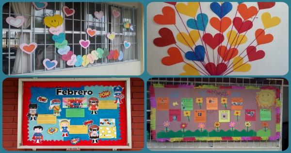 Colecci n con m s de 50 ideas peri dico mural y for Actividades divertidas para el salon de clases