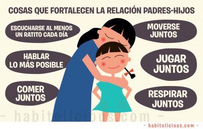 Cosas que fortalecen la relacion Padres-Hijos