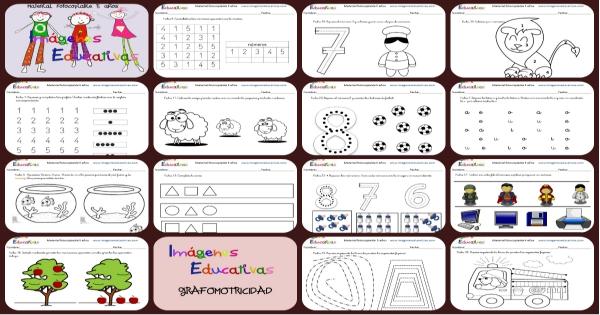 Cuadernillo de 40 actividades para 5 a os educaci n for Actividades para ninos de jardin