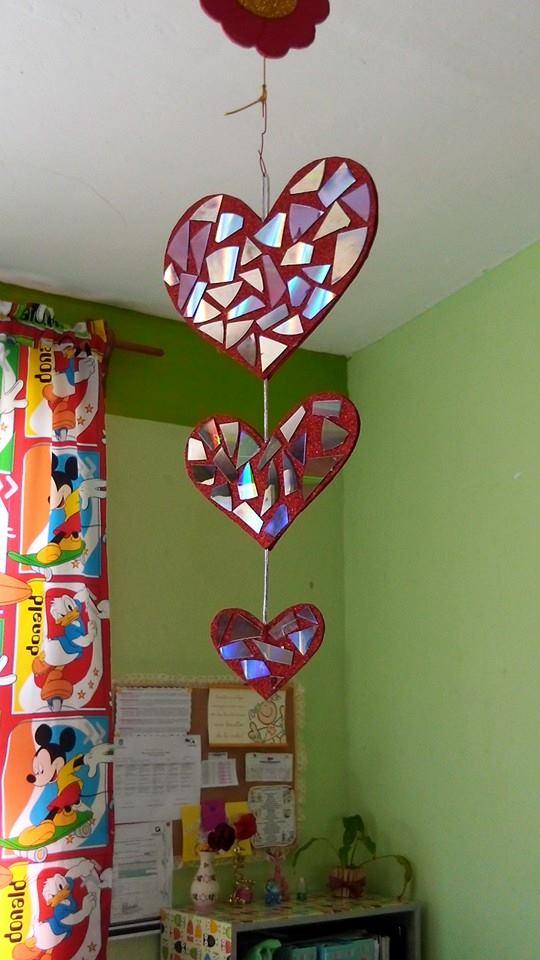 Salon De Clases Decorado De San Valentin ~ Decoracion dia del amor y dela amistad (12)  Imagenes Educativas