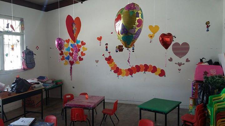 Decoracion de un salon de preescolar para el dia del padre - Adornos para salon ...