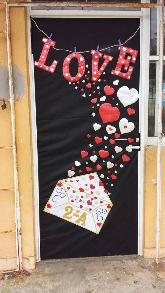 Salon De Clases Decorado De San Valentin ~ Decoracion dia del amor y dela amistad (24)  Imagenes Educativas