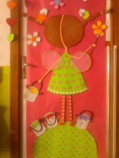 Decoracion puertas clase 1 imagenes educativas for Decoracion puerta aula infantil