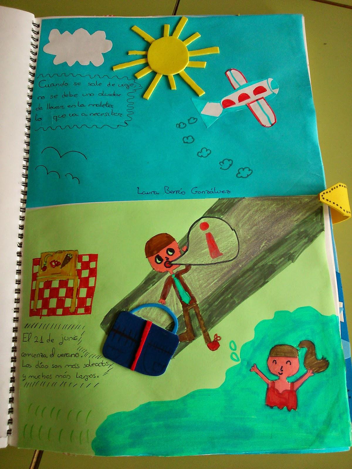 Libro Viajero 10 Imagenes Educativas