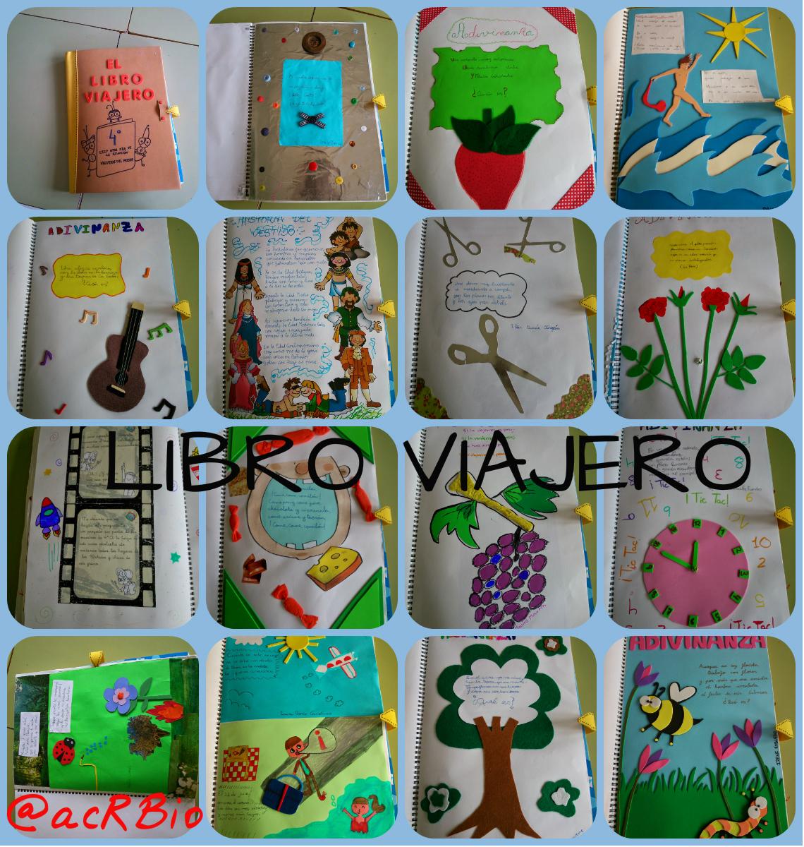 Libro Viajero Collage - Imagenes Educativas