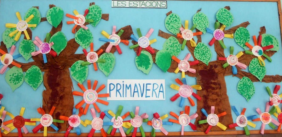 Murales primavera 10 imagenes educativas for Decoracion primavera manualidades