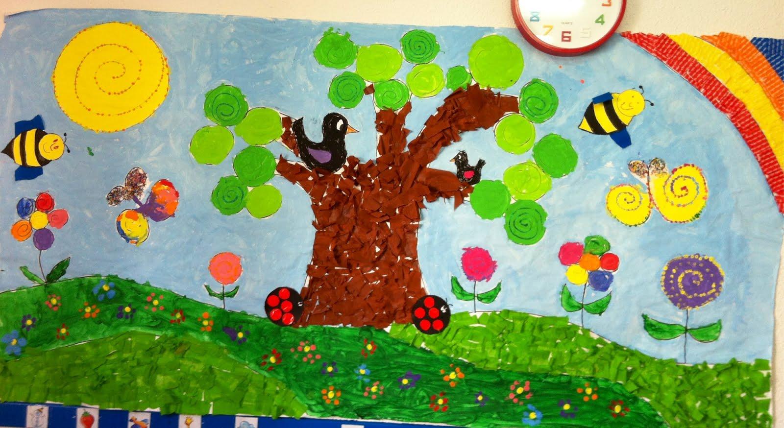 Murales primavera 4 imagenes educativas - Murales con fotos ...