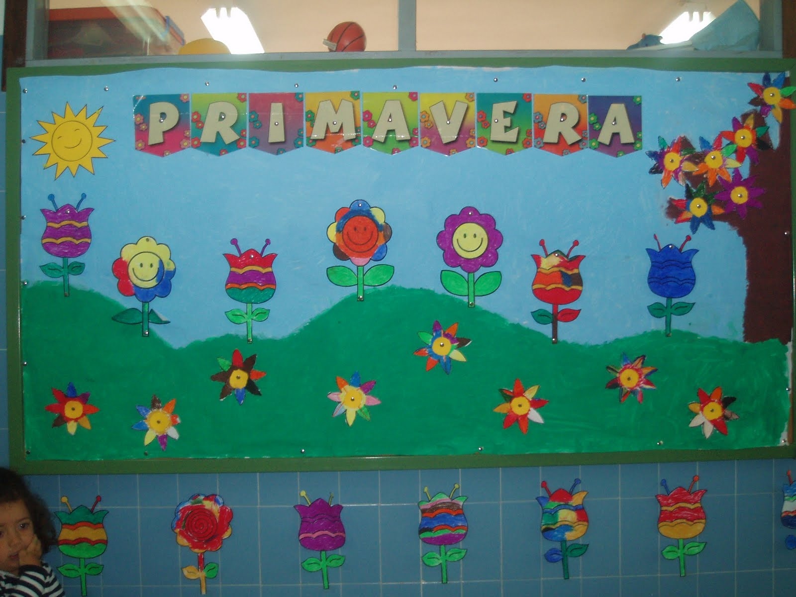 Murales primavera 5 imagenes educativas for Murales infantiles para pared