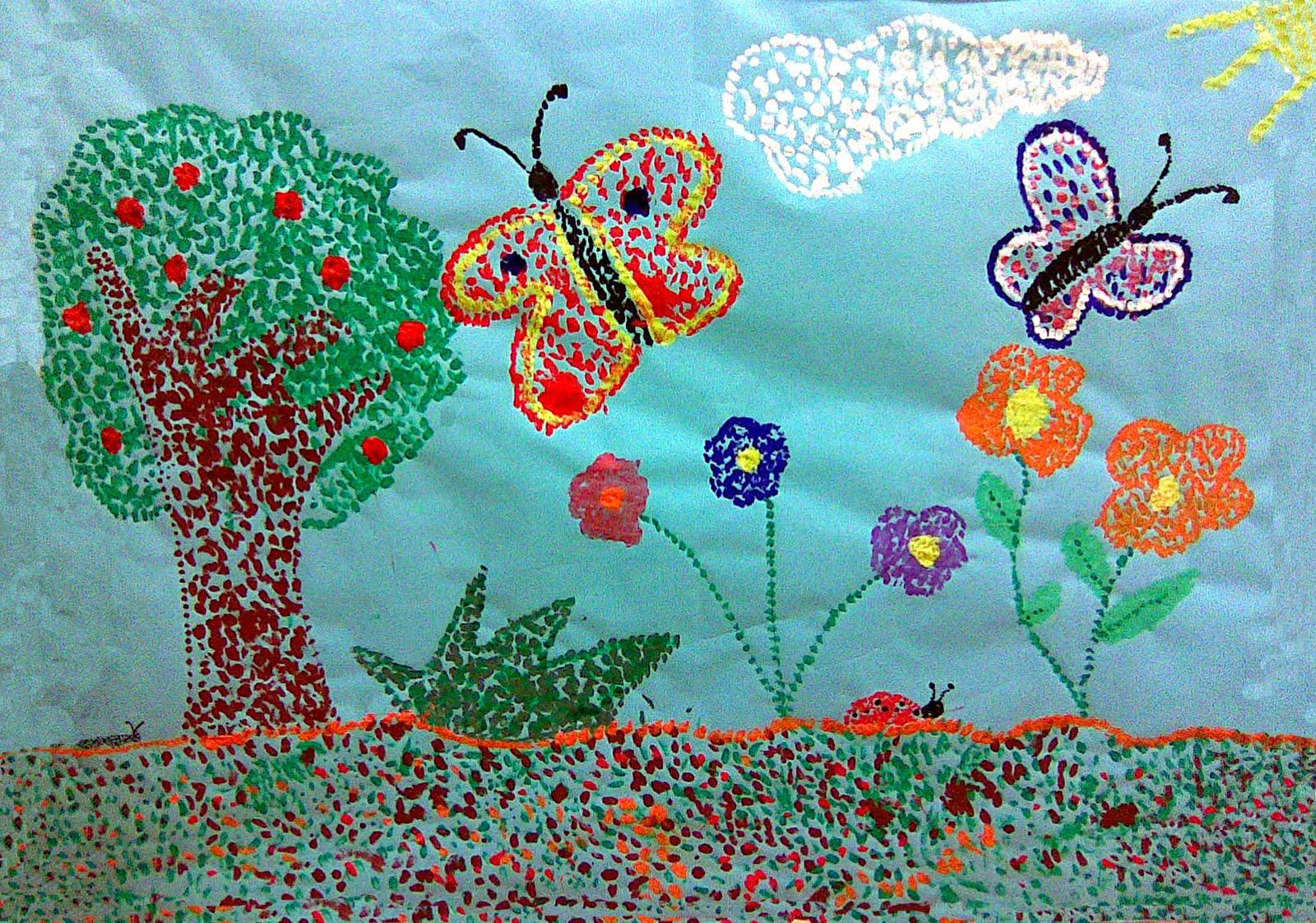 Murales primavera 6 imagenes educativas - Dibujos para paredes infantiles ...