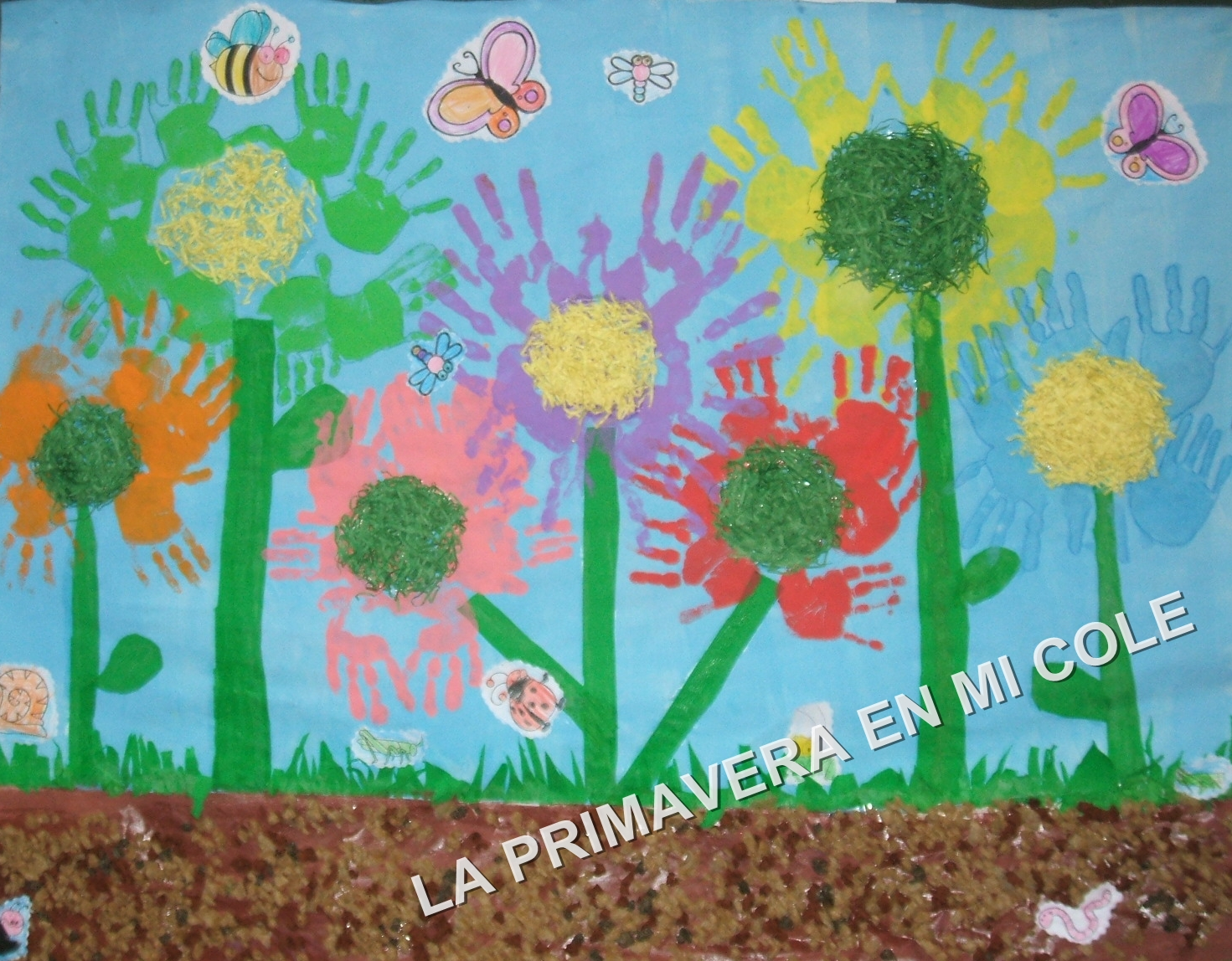 Murales primavera 8 imagenes educativas for Murales infantiles para pared