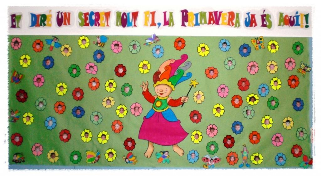 Murales primavera 9 imagenes educativas for Actividades para jardin infantil