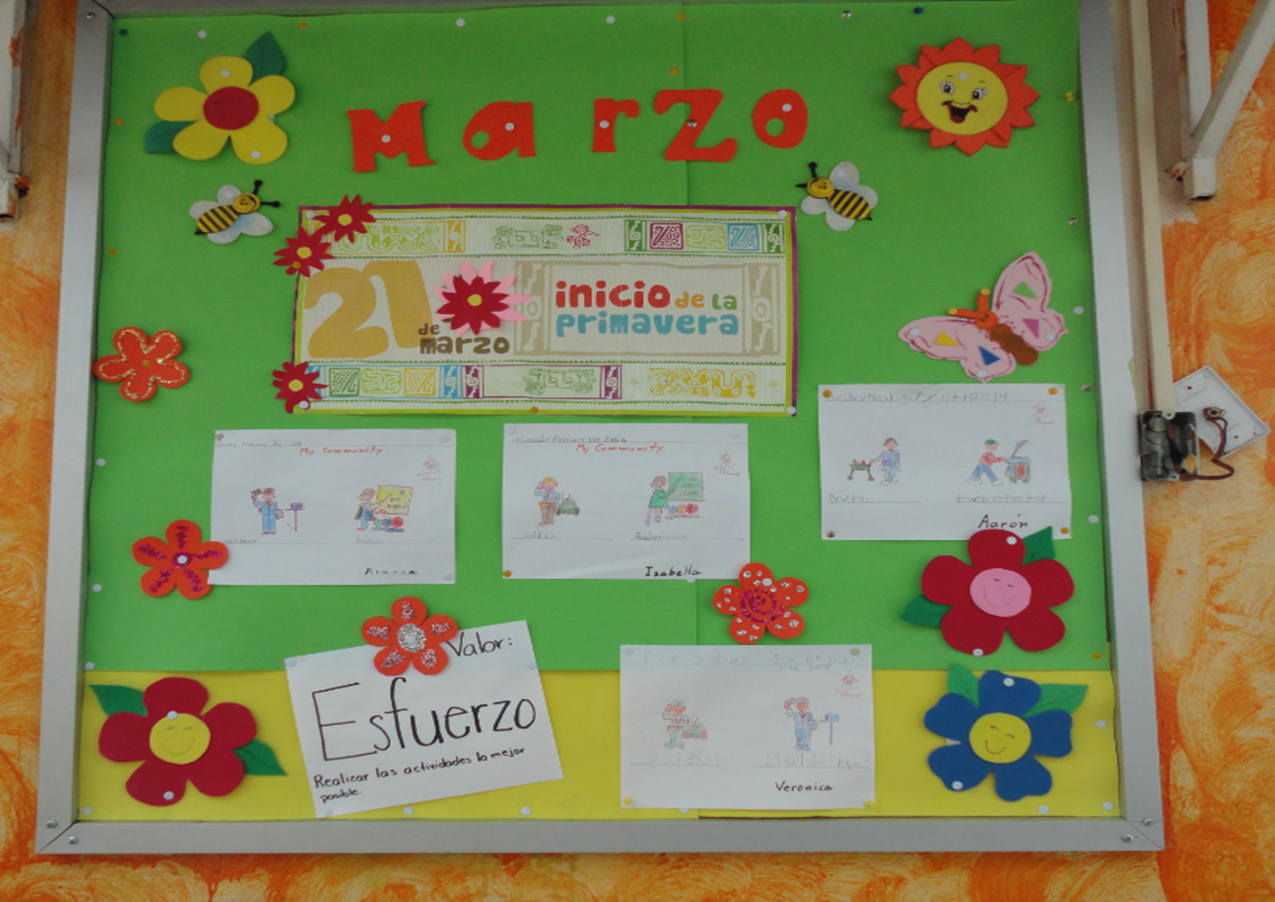 Periodico mural 1 imagenes educativas for Como decorar un mural