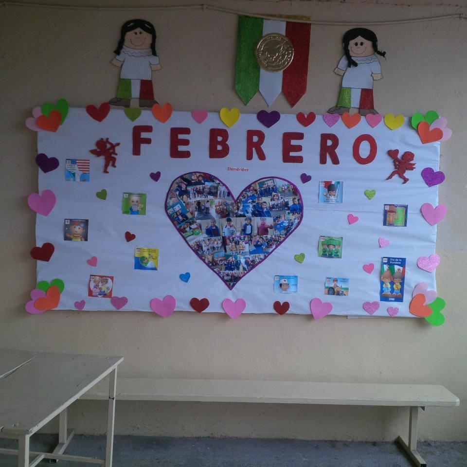 Periodico mural 10 imagenes educativas for Decoracion de pared para san valentin