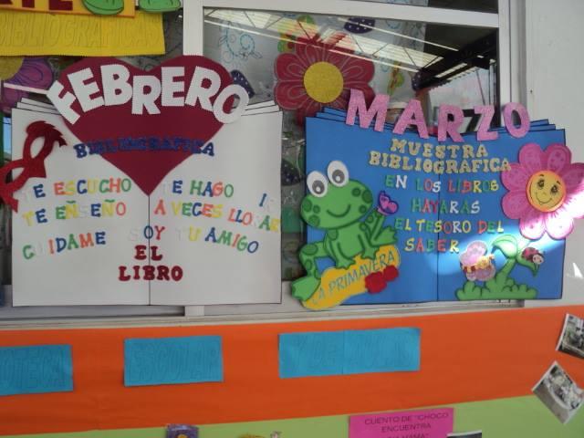 Periodico mural del mes de febrero en preescolar imagui for Murales faciles y creativos
