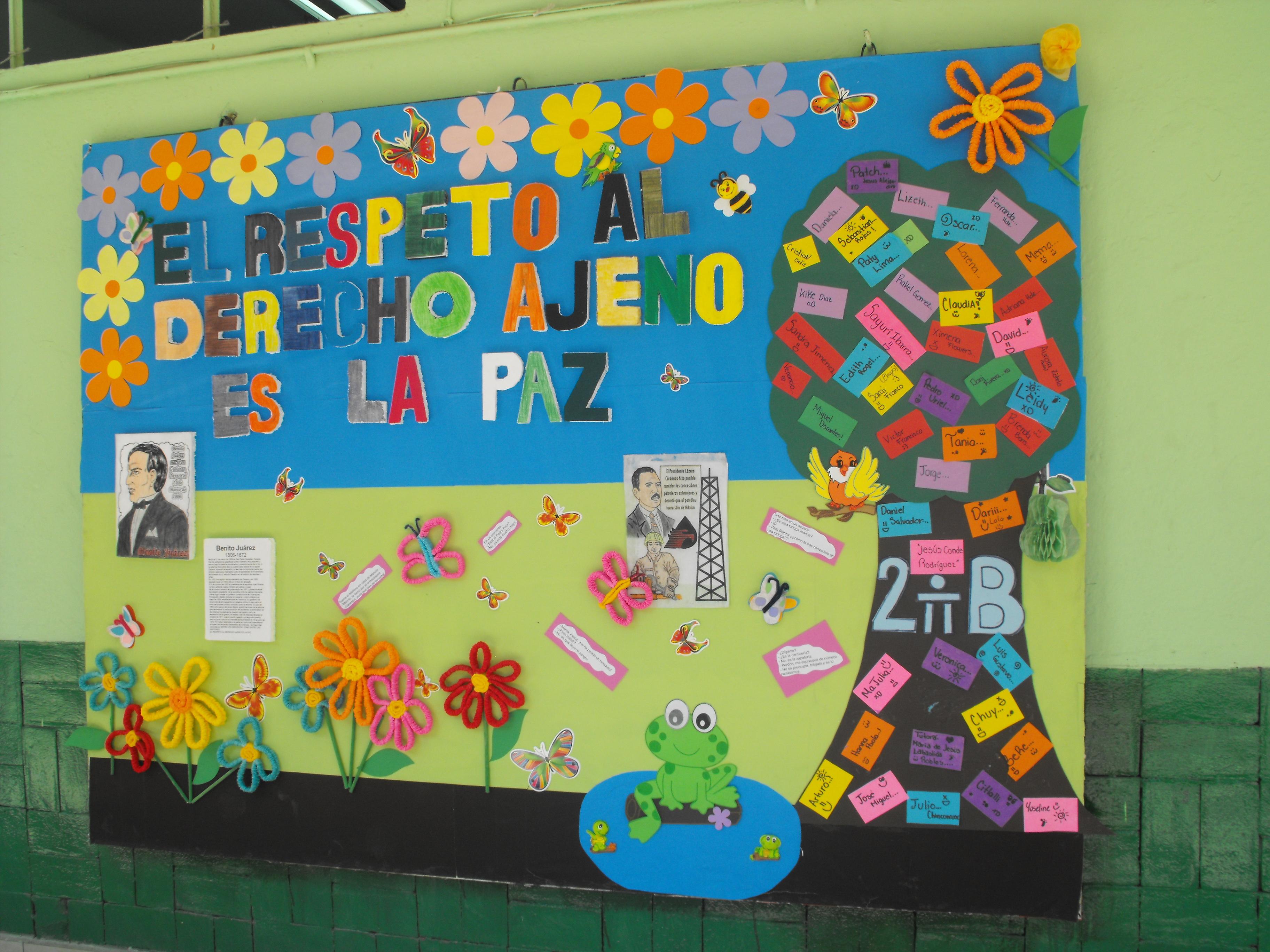 Periodico mural 2 imagenes educativas for Murales faciles y creativos